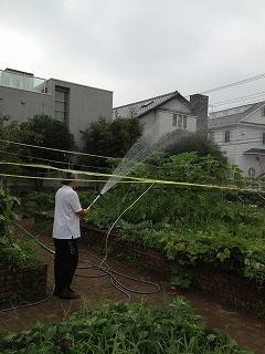 世田谷区立八幡小学校 GH延長 畑散水 022.jpg
